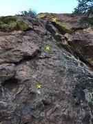 Rock Climbing Photo: Route beta