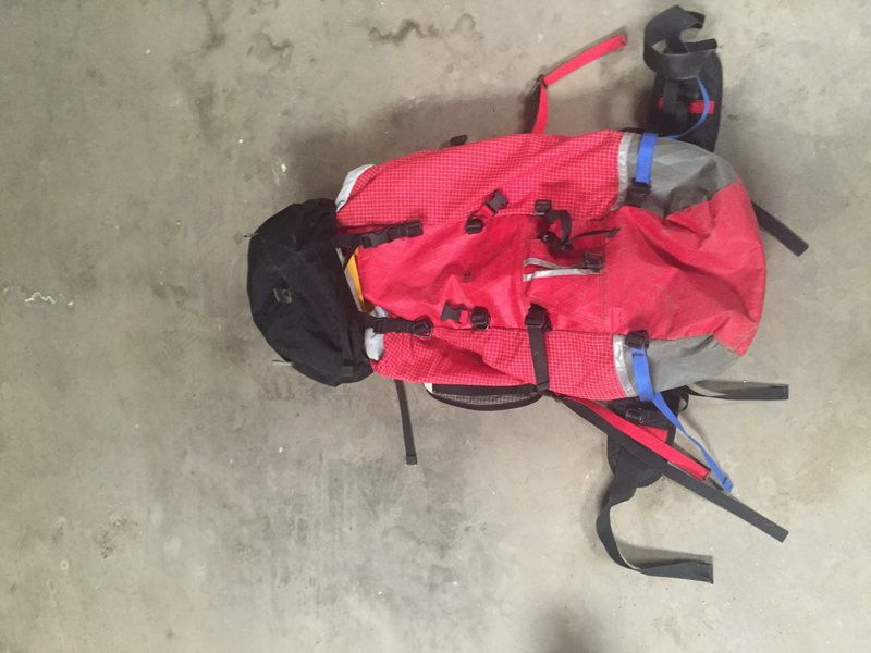 Rock Climbing Photo: Cilogear 3030 work sack.