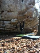 Rock Climbing Photo: just messing around