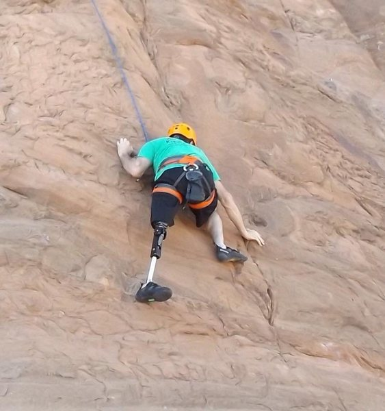 Rock Climbing Photo: potash