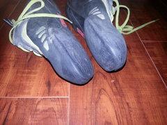 Closeup of soles