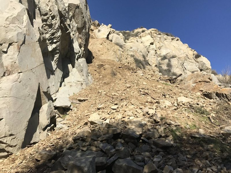 Rock Climbing Photo: Landslide 2