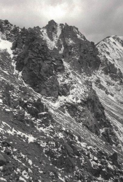 Rock Climbing Photo: air