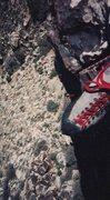 Rock Climbing Photo: Fire