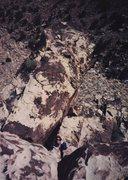 Rock Climbing Photo: Sally