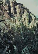 Rock Climbing Photo: view