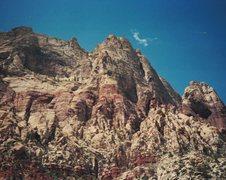 Rock Climbing Photo: above