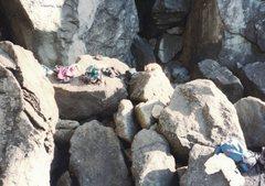Rock Climbing Photo: don't drop it...