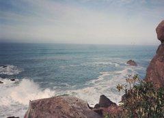 Rock Climbing Photo: ocean