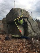 Rock Climbing Photo: Panther Roof.