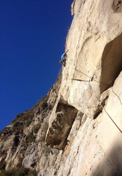 Rock Climbing Photo: Dante on Gridlock.