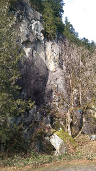 Rock Climbing Photo: Right Side of the Country