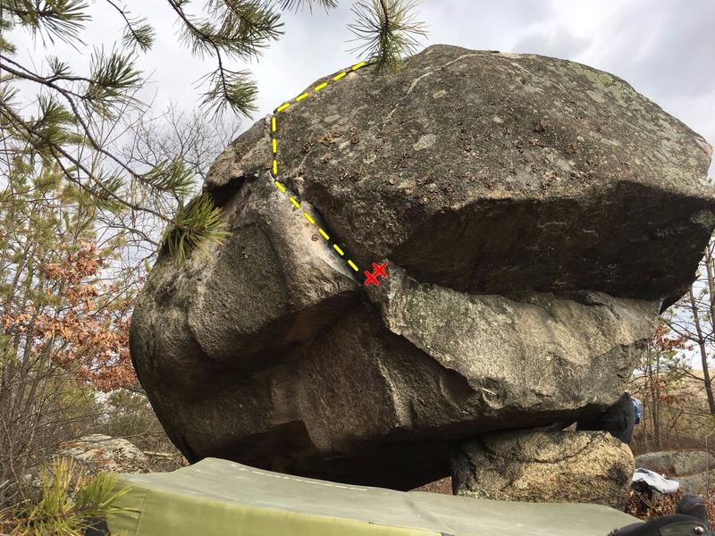 Rock Climbing Photo: Pacman.