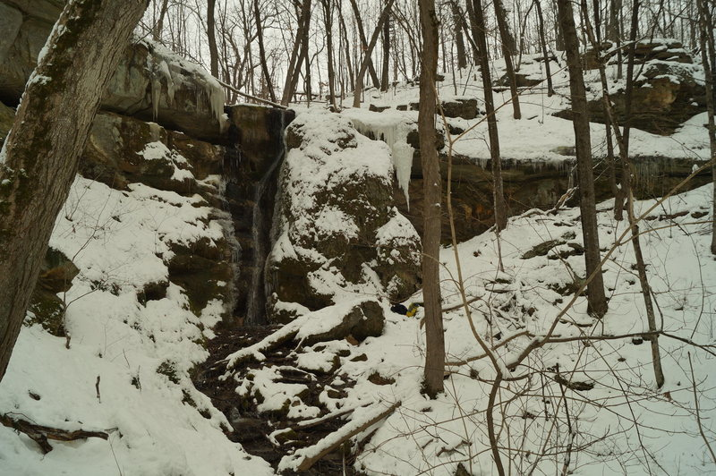 Rock Climbing Photo: Not always the thickest of ice