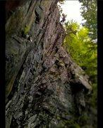 Rock Climbing Photo: steep!