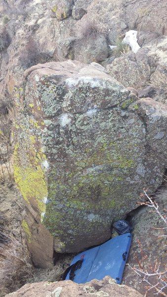 Rock Climbing Photo: Roll that beautiful bean footage!