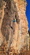 Rock Climbing Photo: Late January t-shirt climbing...hard to beat. Janu...