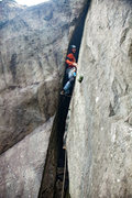 "Rock Climbing Photo: We started the day ""Offwidth A Bang"" wit..."