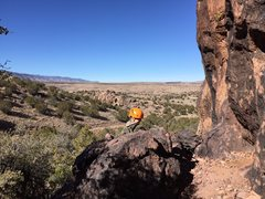 Rock Climbing Photo: Peaceful setting away from the crowds at Socorro