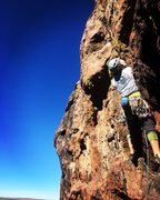 Some of the best easy and moderate climbing (both sport and trad) can be found at Scarry Wall