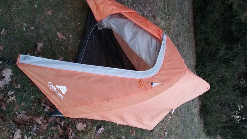 Rock Climbing Photo: Tent's vestibule