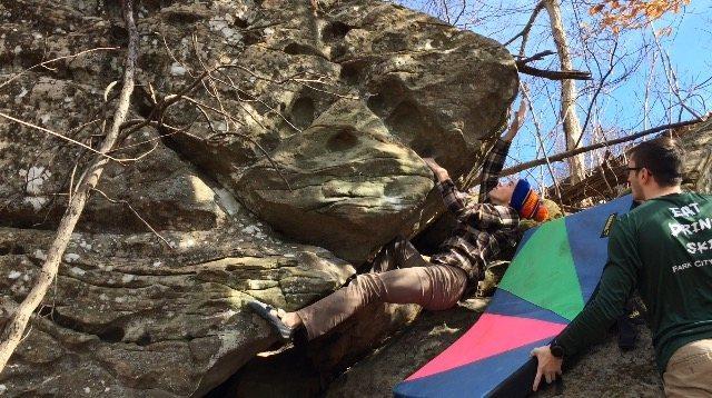 Rock Climbing Photo: FA - 1/28/17