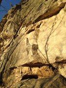 Rock Climbing Photo: Right side start on Cheater Stone