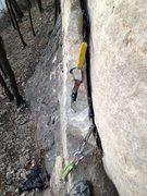 Rock Climbing Photo: small cams