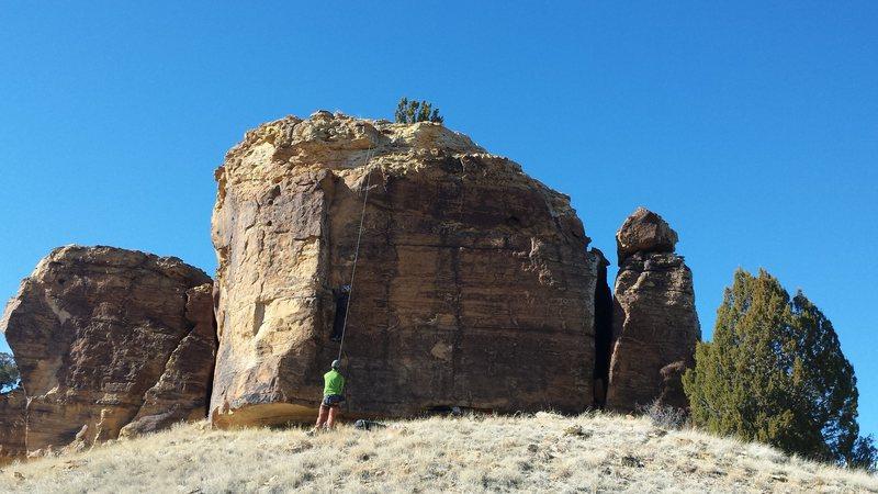 Rock Climbing Photo: Lone Tree Bluff.
