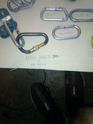 "I have one other chouinard biner identical to the oval one in this pic and anywhere online shopping people have got these ""vintage""  carabiners for 30+ dollars"