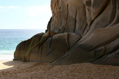 Rock Climbing Photo: The west wall of Cheaters Cove