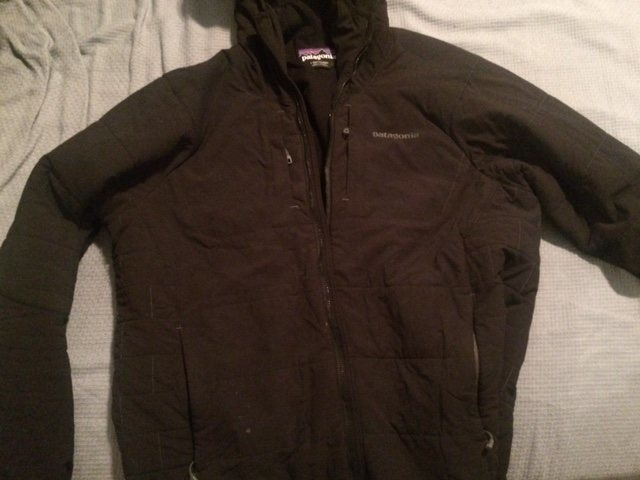 Patagonia Men&#39;s Nano-Air Hoody<br> <br> This jacket is the shiz. I have one in another color so I&#39;m getting rid of this one. <br> <br> $225