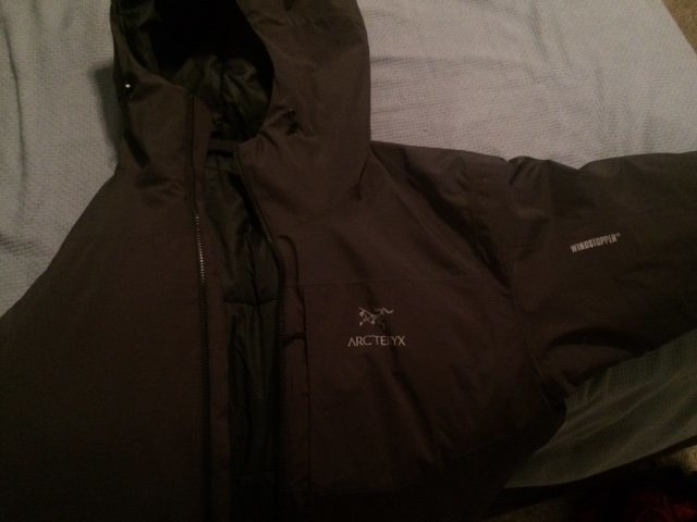 Arcteryx Fission SL Jacket XL<br> <br> This is the big momma. Super warm and waterproof.<br> $475