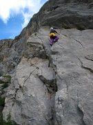 Rock Climbing Photo: Voie Chegevaroux