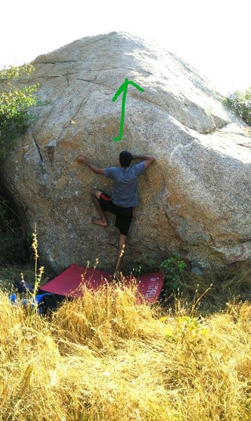 Rock Climbing Photo: Nimbu Paani Boulder