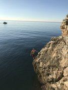 Rock Climbing Photo: Over the Mediterranean