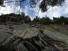 Rock Climbing Photo: Iv gotta crow, Tick Tock, and Lost Boys Go Bolting...