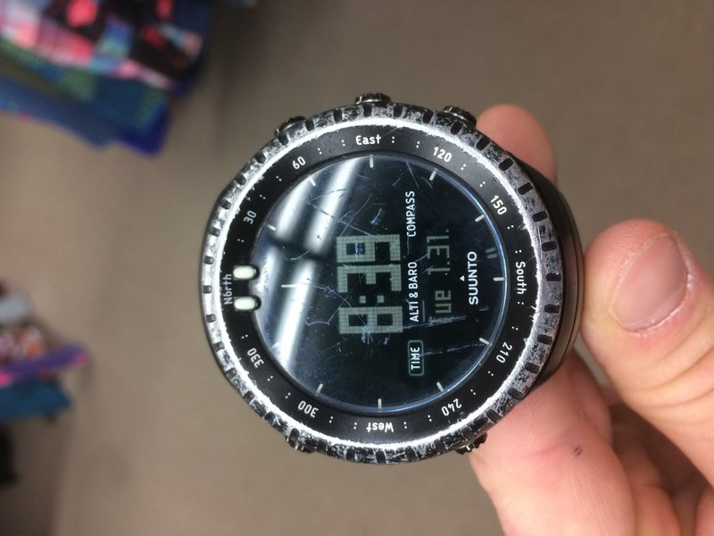 Watch face and dial