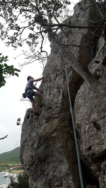 East pillars climbs