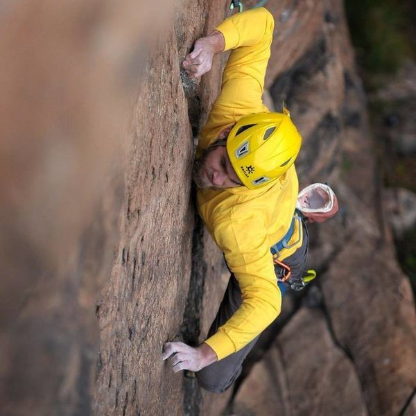 Rock Climbing Photo: Anthony Johnson
