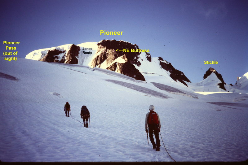 The N E Ridge of Pioneer