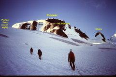 Rock Climbing Photo: The N E Ridge of Pioneer