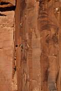 Rock Climbing Photo: JT and Brittany Griffith 2014.  Photo by Scott Car...