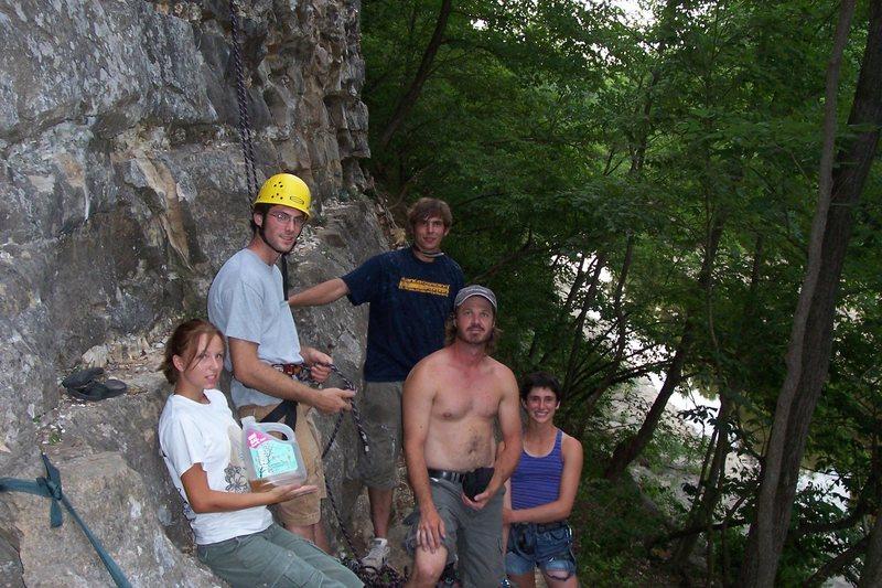 Bouldering Garden members 2005