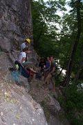 Rock Climbing Photo: Great summer shade get-a-way
