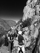 Rock Climbing Photo: Mission Gorge Batchelor Party!!!