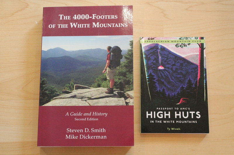 BEFORE BUYING BOOKS: I CANNOT GARANTE PRICE SPECIALLY FOR SHIPPING. IT WILL DEPEND HOW MANY BOOKS YOU WANT AND IF YOU COMBINE WITH OTHER GOODS. IT COULD BE HIGHER OR LOWER.<br> <br> <br> <br> <br> <br> <br> New books<br> The 4000-Footers of the White Mountains 17$<br> High Huts 8$