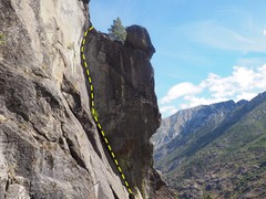 Rock Climbing Photo: One hell of a pitch. Credit chossboys.weebly.com