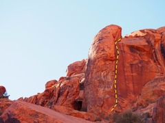Rock Climbing Photo: You can't really miss this line. Credit chossb...
