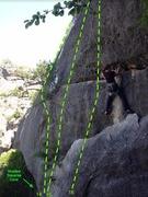Rock Climbing Photo: 14.) Wrangler Savvy 5.11b 15.) Cow Smarts 5.10a 16...